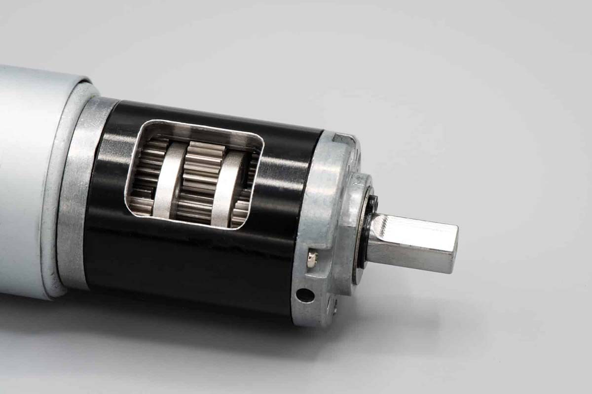 12V Planetary Gear Motor Cut Away