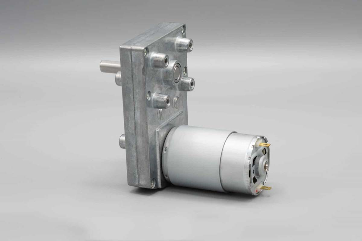 Right Angle Spur Gear Motor