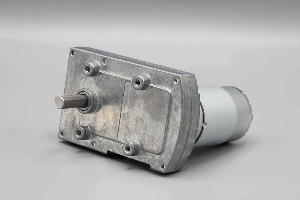 24V DC Right Angle Spur Gear Motor