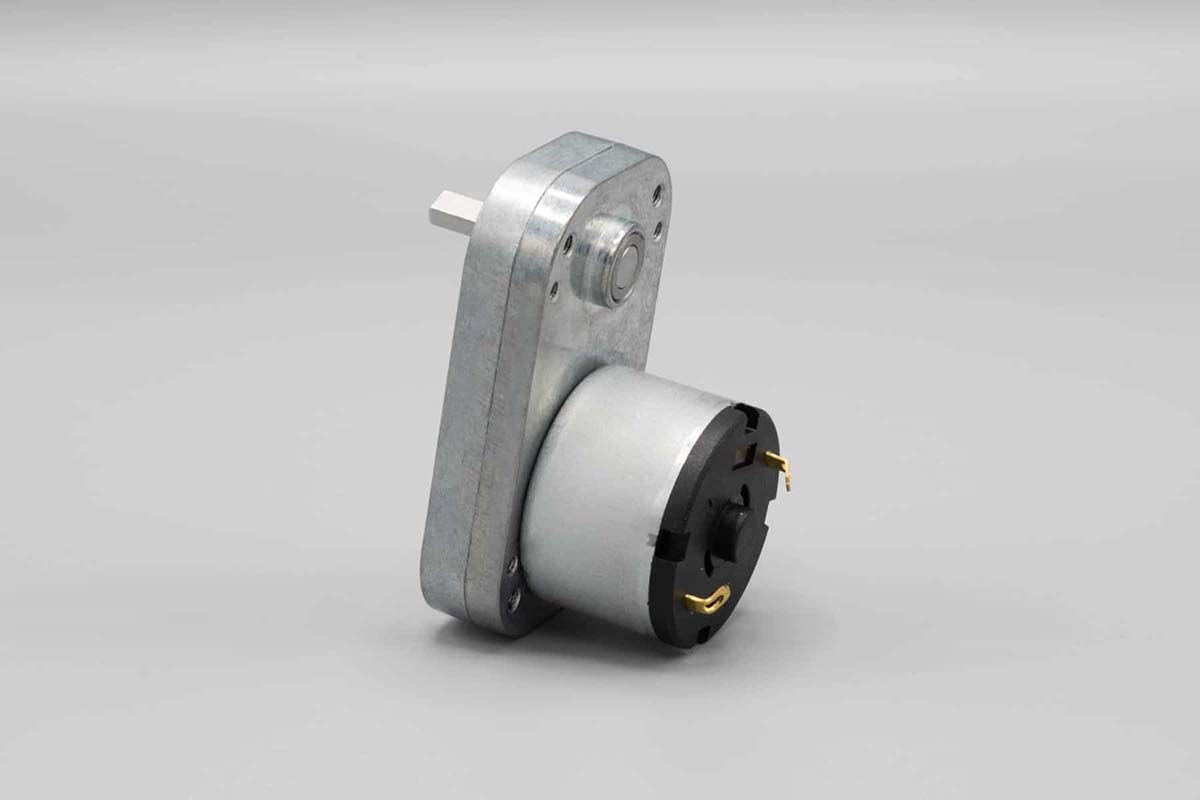 5V DC Right Angle Spur Gear Motor