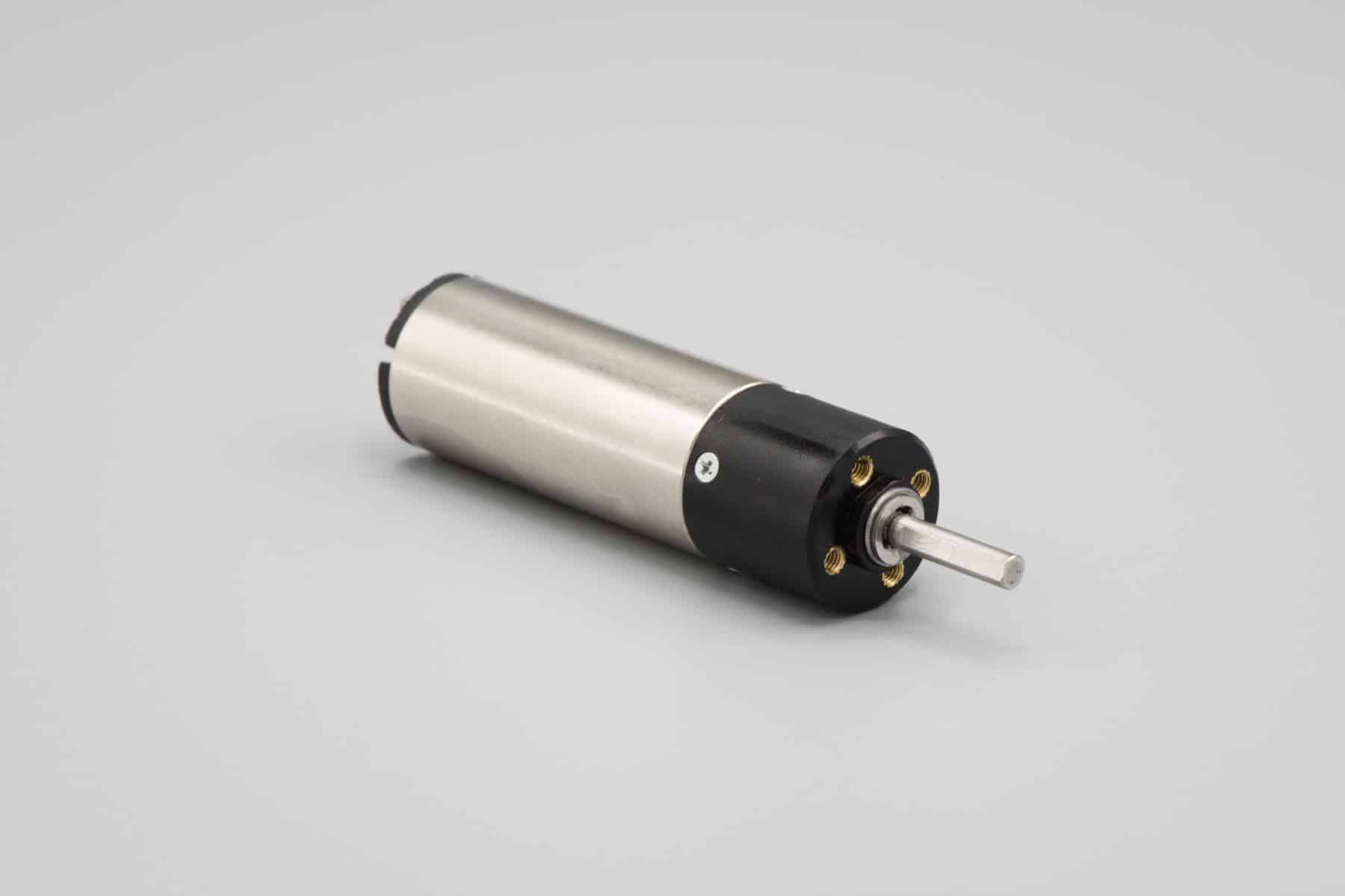 7.4 DC Coreless Brushed Motor - Side View