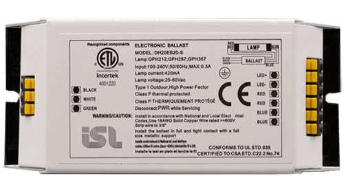 Ballasts for UV Germicidal Disinfection Component