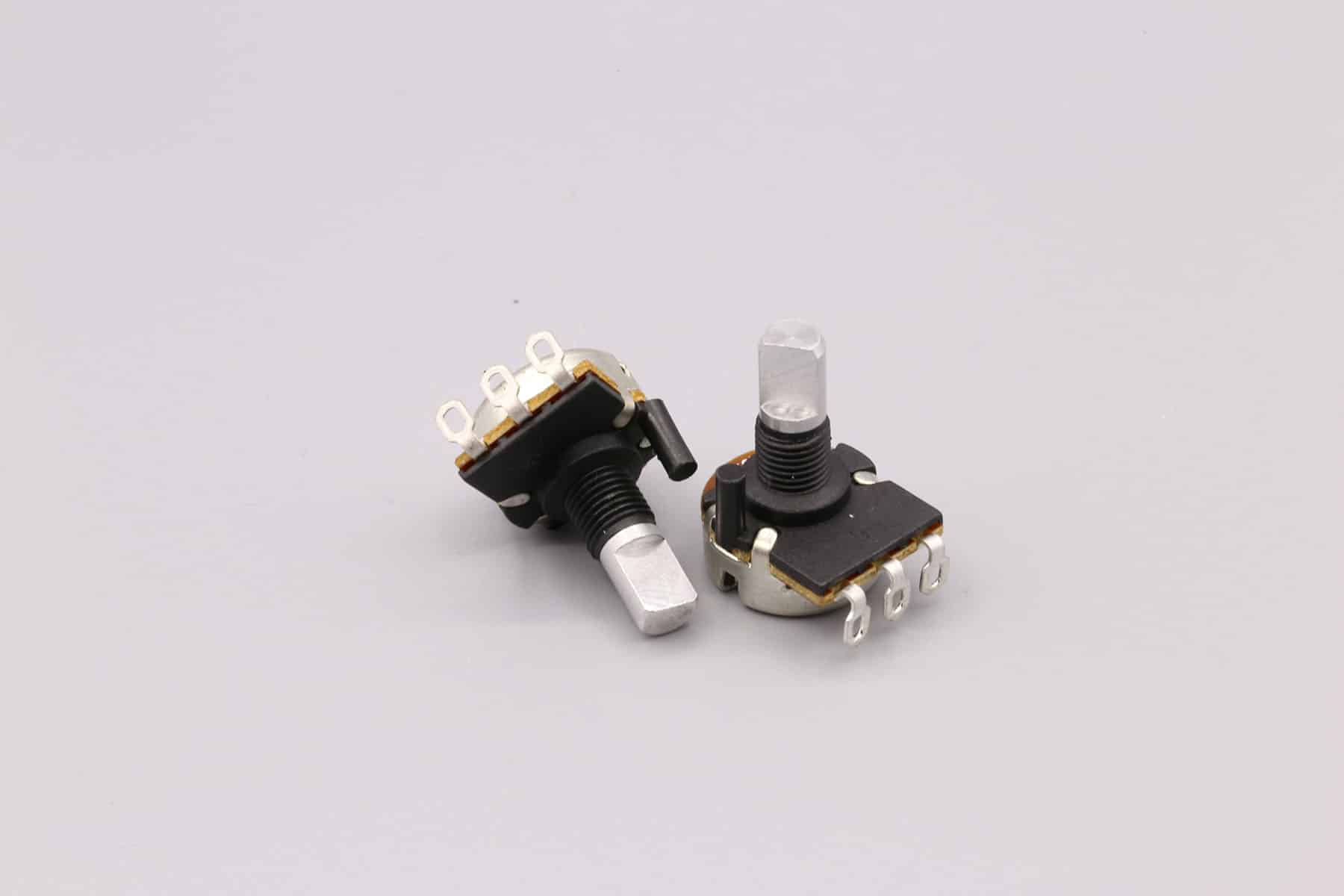 Potentiometers with Protective Covers