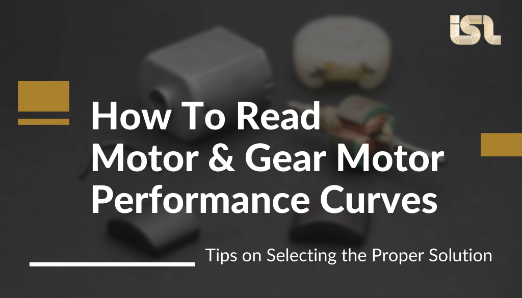 how to read motor and gear motor performance curves