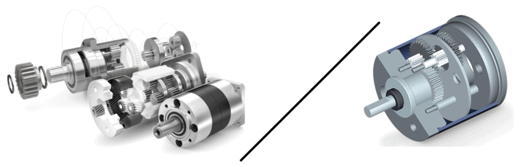 Planetary Gear Motor and Spur Gear Motor