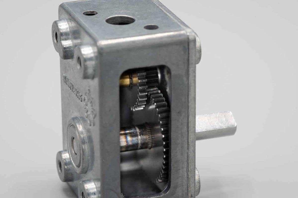 Right Angle Spur Gearhead