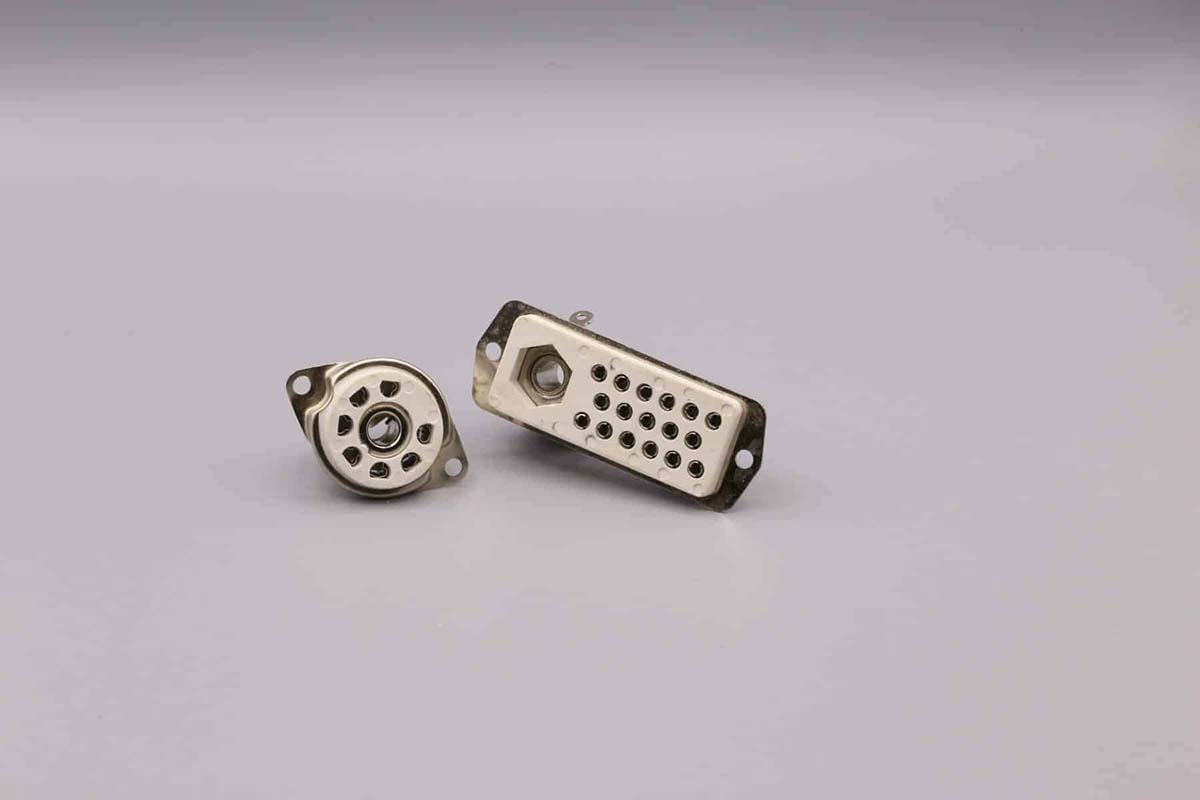 Sockets for Nurse Call Systems - Front View
